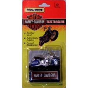 MATCHBOX HARLEY DAVIDSON ELECTRAGLIDE Toys & Games