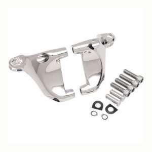Footpeg Mount Kit Chrome For Harley Davidson XL Models OEM# 49322 04