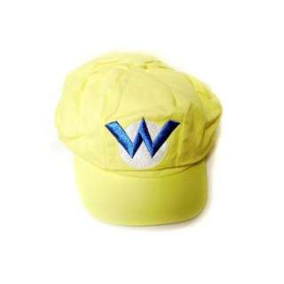 Super Mario Bros Wario Cotton Elastic Hat (Teen Size) Toys & Games