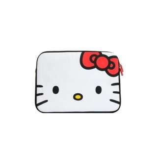 Hello Kitty White Face Laptop Case