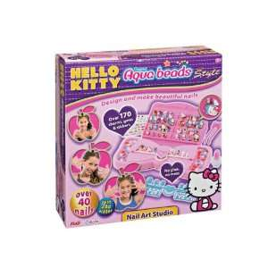 Aqua Beads Hello Kitty Nail Art C Toys & Games