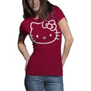 Hello Kitty Inverse Junior Crew Tee Shirt