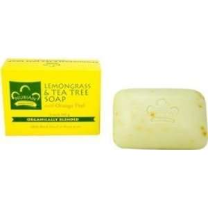 Nubian Heritage Bar Soap Lemongrass & Tea Tree   5 Oz, 6