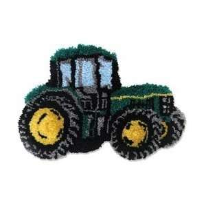 M C G Textiles Latch Hook Kit 28X18 1/2 Tractor: Arts