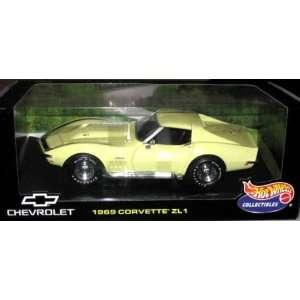 Hot Wheels 1969 Chevy Corvette ZL 1   118 Scale Toys