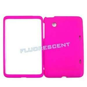 HTC Flyer Fluorescent Solid Rich Hot Pink Hard Case, Cover