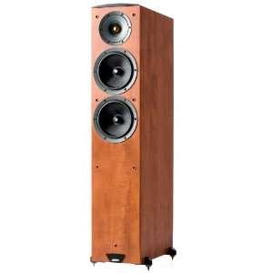 Jamo C605 Floor Standing Speaker (Single, Dark Apple