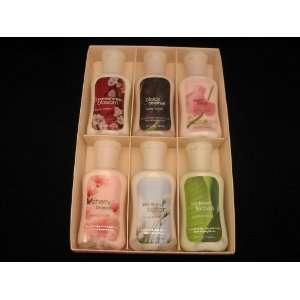 Body Works Lotion Gift/Sampler Box including Japanese Cherry Blossom