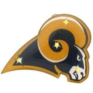 Flashing NFL Pin/Pendant   St. Louis Rams