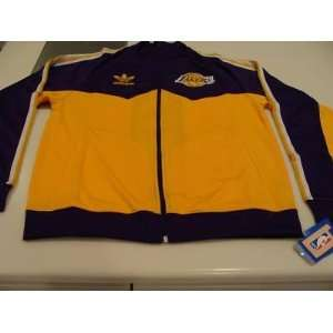 NBA Los Angeles Lakers NBA Track Jacket Basketball XL   Mens NBA