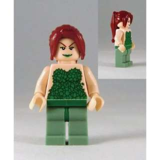 Lego Poison Ivy Minifigure (Modified Hair): Lego Batman