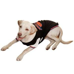 New York Knicks Pet Varsity Jacket   Black