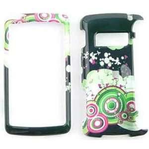 LG ENV 3 / ENV3 vx9200Green/Pink Circles and Dots Hard Case/Cover