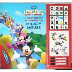 Mi gran libro de actividades con Mickey (9788448830359