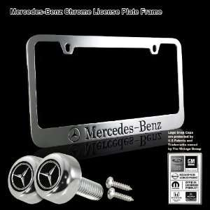 Mercedes Benz Black Stamped High Quality Chrome Plating