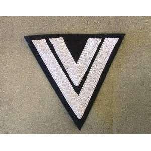German WW2 Cloth Embroidered Badge Corporal (Chevron