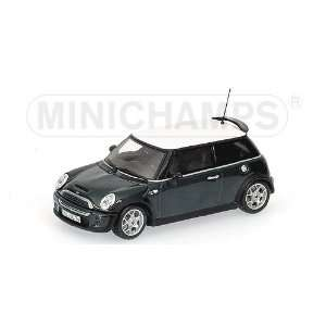 MINI Cooper S 2002 Green 1/43 Scale Diecast Model Toys & Games