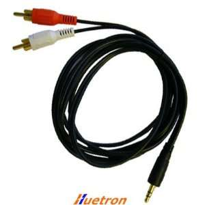 Stereo Mini 3.5mm to Dual Rca Audio Cable / 25ft   Free