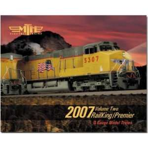 MTH 2007 Vol. 2 RailKing/Premier Model Train Catalog Toys & Games