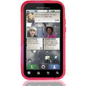 Color Design Case for Motorola Defy (Pink) Cell Phones & Accessories