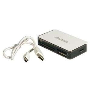 Usb 2.0 Multi Flash Card Memory Reader For Mini Sd / Rs