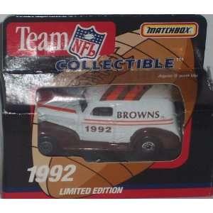 Cleveland Browns 1992 NFL Diecast Chevy Sedan Truck