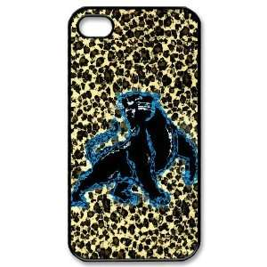 Designed iPhone 4/4s Hard Cases Panthers team logo Cell