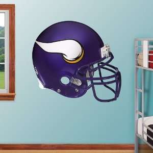 NFL Minnesota Vikings Helmet Vinyl Wall Graphic Decal Sticker Poster