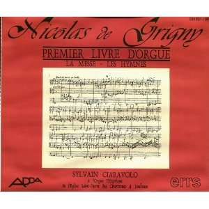 De Grigny Premier Livre dOrgue  Organ Book 1 Nicolas de