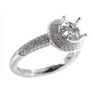 White Gold Diamond Setting Jewelry
