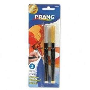 Prang Brush Pens Flexi Tip Gold/Silver 2/Set Case Pack 8