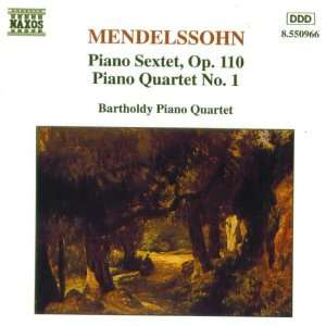 Mendelssohn Piano Quartet No. 1   Sextet, Op. 110 [Import]
