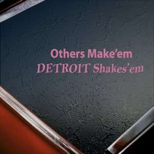 Shakesem Pink Decal Diesel Pink Sticker Arts, Crafts & Sewing