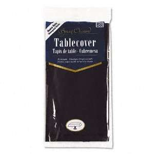 plastic tablecloth for easy clean up after a party or gathering