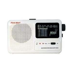 Portable Emergency Alert Radio Electronics