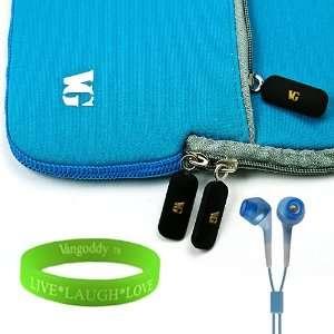 Quality Neoprene Light Blue Carrying Case for HTC Evo 4G
