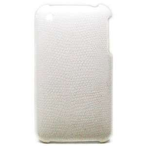 Apple Iphone 3g 3gs Hard White Snake Skin Cover Case 03 Electronics
