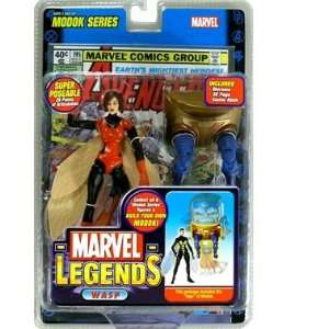 Marvel Legends Series 15 Action Figure Wasp Red Variant Toys & Games