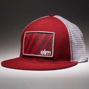 Elm Vandal Trucker Hat  Cardinal Red Adjustable  Sports
