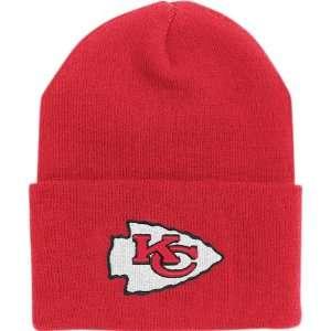 Kansas City Chiefs Red Cuffed Knit Hat