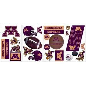 Golden Gophers Kids Removable Wall Graphics Stickers