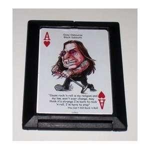 Ozzy Osborne Black Sabbath Rock and Roll hand mirror