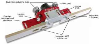 Professional Micro Adjustable Router Table Fence