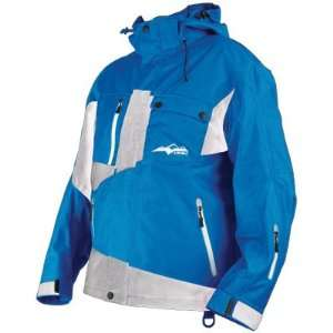 HMK PEAK SNOWBOARD/SNOWMOBILE/SKI JACKET blue/white Sports & Outdoors