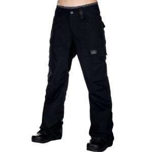 Holden Mens M9 Cargo Snowboarding Pants   Black M Sports