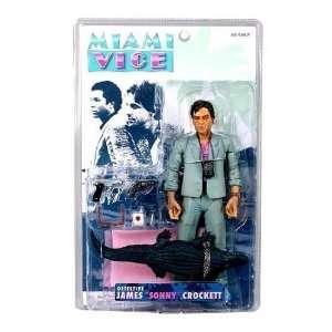 Miami Vice TV James Sonny Crockett Action Figure (Gray