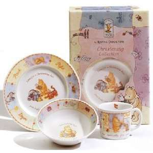 Royal Doulton   Christening Collection   Classic Pooh