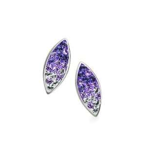 & Tanzanite Marquis Earrings. Made with Swarovski Elements Jewelry