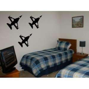 Vinyl Wall Decal Military Jets Art Design Sticker