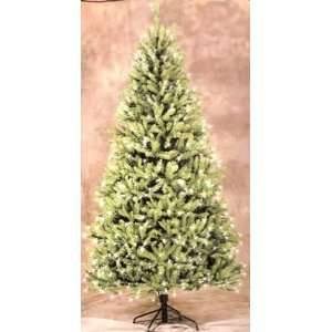 7 1/2 LIGHTED Mid Atlantic Christmas Tree Home & Kitchen